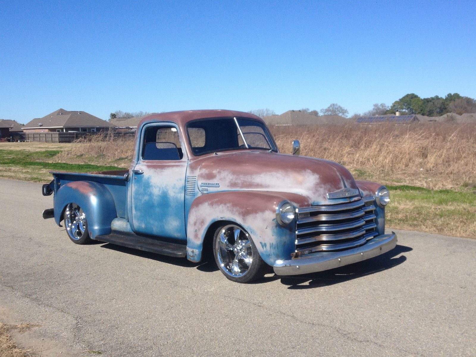 1950 Chevrolet Truck 3100 patina air ride custom for sale ...
