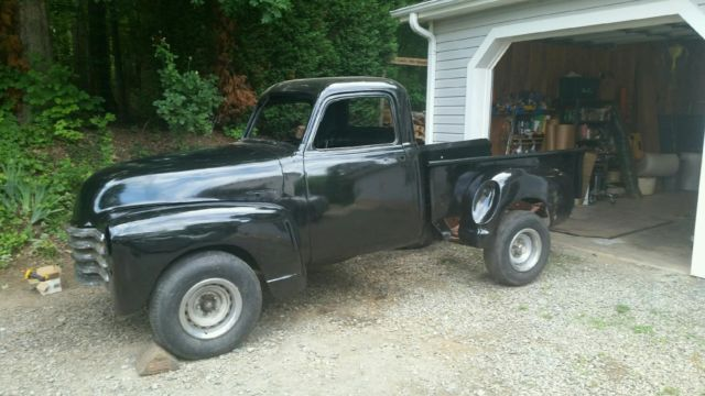1950 chevy 3100 truck with cummins diesel engine