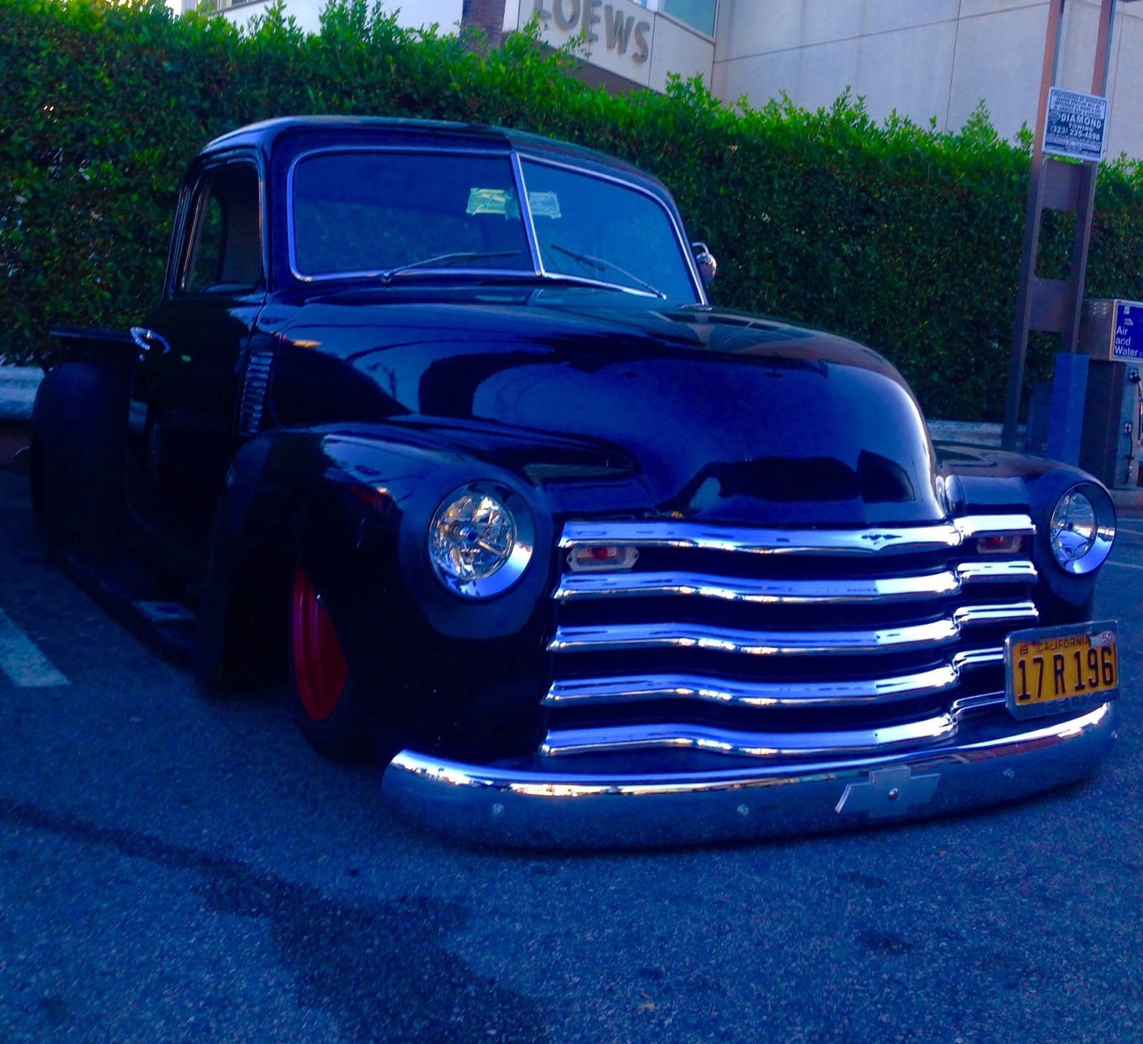 1950 Chevy Pickup Hot Rod Art Morrison Chassis 350 V8 Automatic Airbags 1949 Truck Stepside