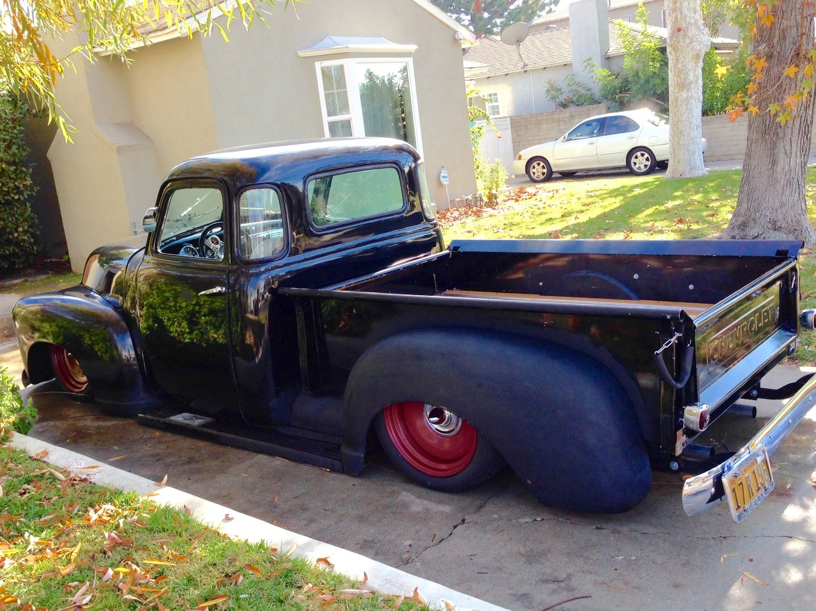 1950 Chevy Pickup Hot Rod Art Morrison Chassis 350 V8 Automatic Airbags 1949 Truck