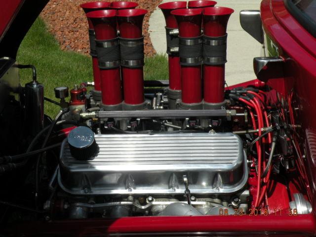 1950 Chevy Pro Street Hot Rod With 540 Bb Hilborn