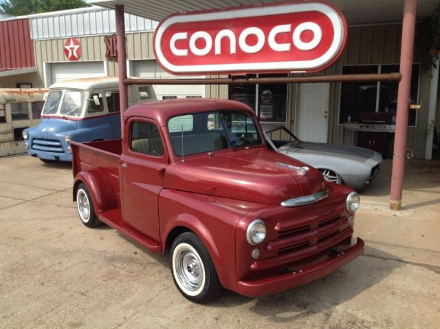 1950 Dodge 5 Window Truck Chevy Drivetrain Rat Rod Hot Classic Show