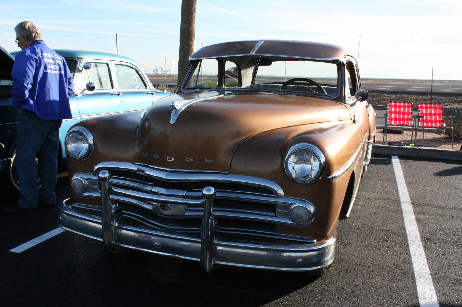 1950 Dodge Coronet Base Flat Head 6 Cyl 1949 2 Door