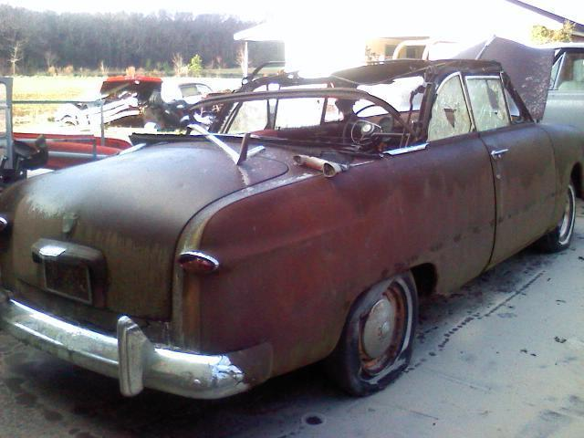 1950 Ford Convertible Rat Rod Custom Hotrod Project Barnfind
