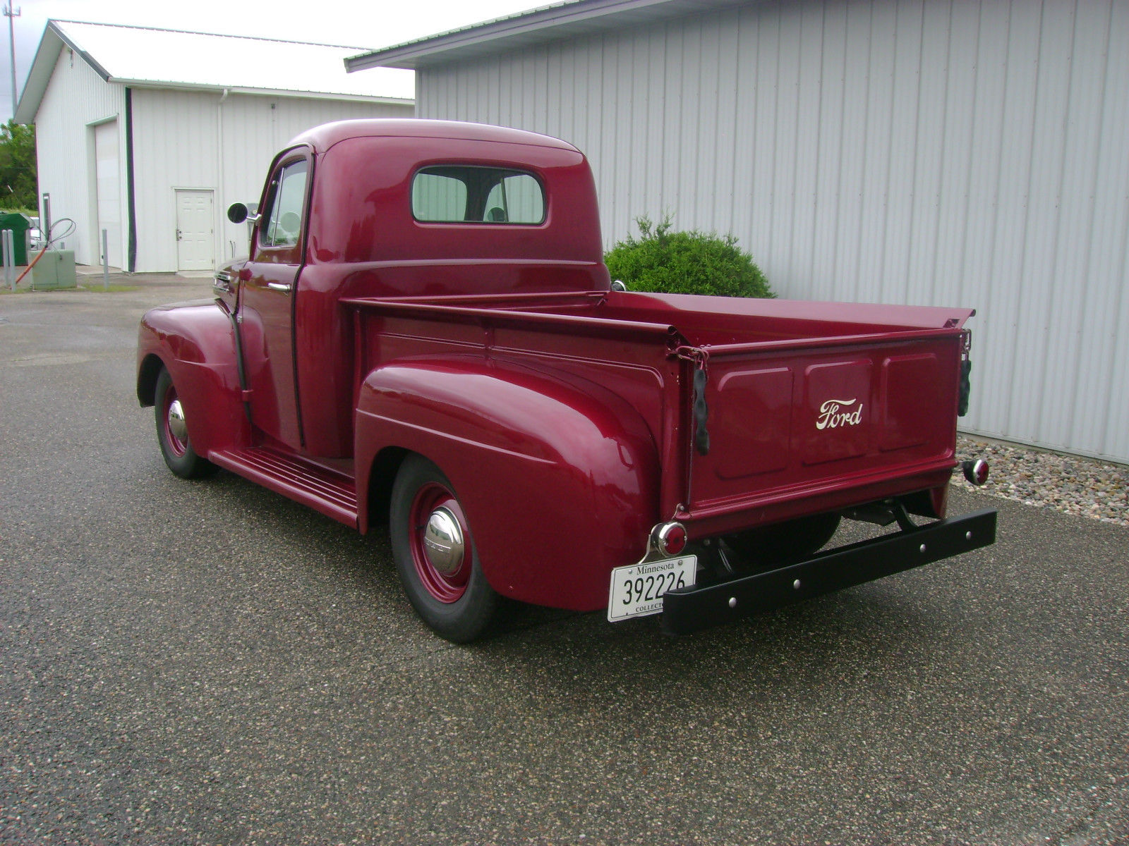 1950 ford f1 completely restored very sharp truck low reserve. Black Bedroom Furniture Sets. Home Design Ideas