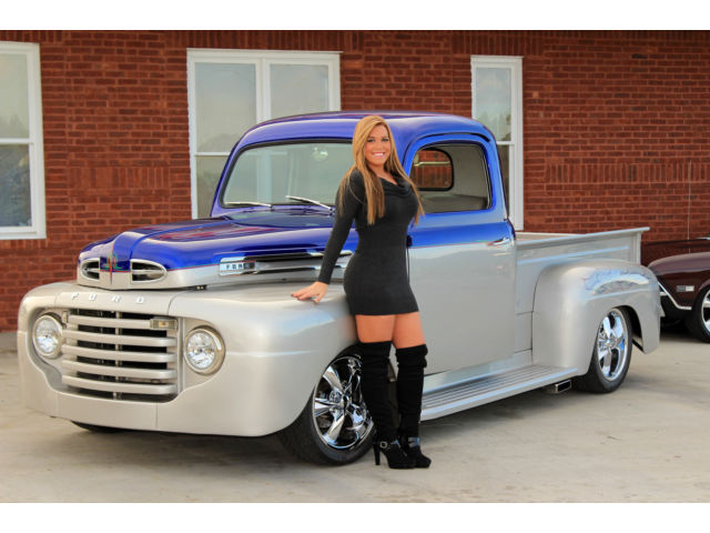 1950 ford f1 pick up holiday sale 4wpdb ac mustang ii ps 351 overdrive trans. Black Bedroom Furniture Sets. Home Design Ideas