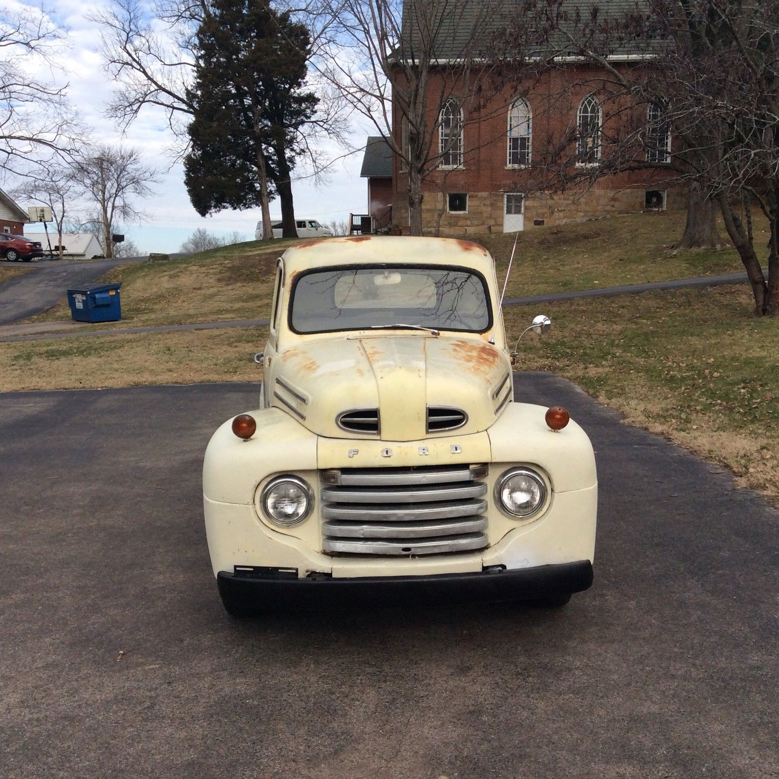 Small Ford Truck: 1950 Ford F1 Pickup Truck