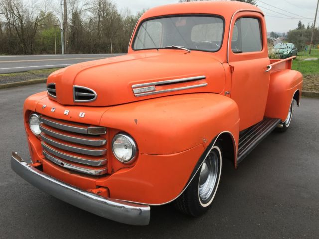 Ford F Pickup Truck Flathead V Awesome Survivor