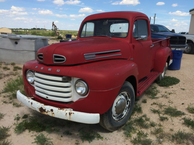 1950 Ford F3 no rust F1 F2 classic truck chevy dodge1950 ...