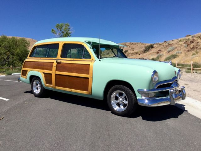 1950 Ford Woody Station Wagon Very Nicely Restored Rebuilt Flathead