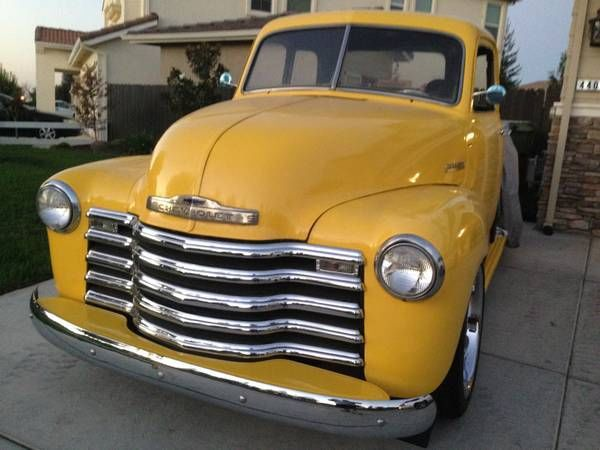 1950 gmc chevy 5 window truck ls3 motor 6 speed 20 wheels many extras for sale in modesto. Black Bedroom Furniture Sets. Home Design Ideas