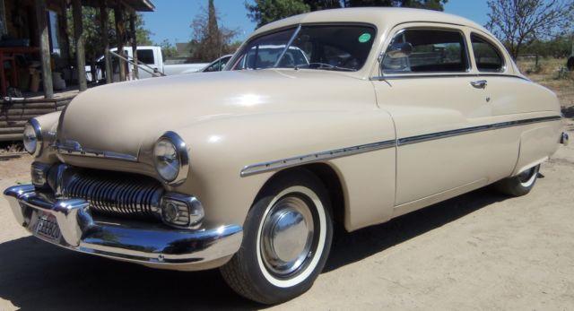 1950 mercury 2 door coupe flathead 8 3 speed with for 1950 mercury 2 door for sale