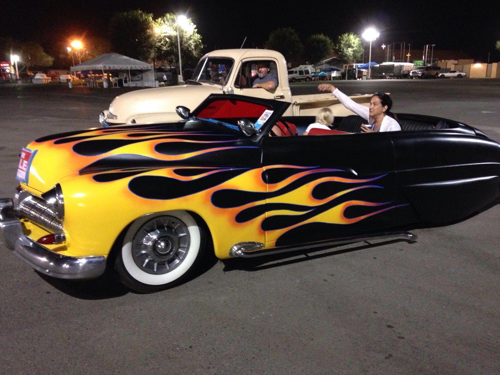 1950 Mercury Lead Sled Hot Rod W Fiberglass Carson Top