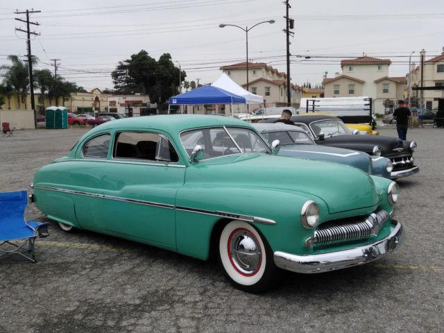1950 mercury mild kustom coupe 2 door for 1950 mercury 2 door for sale