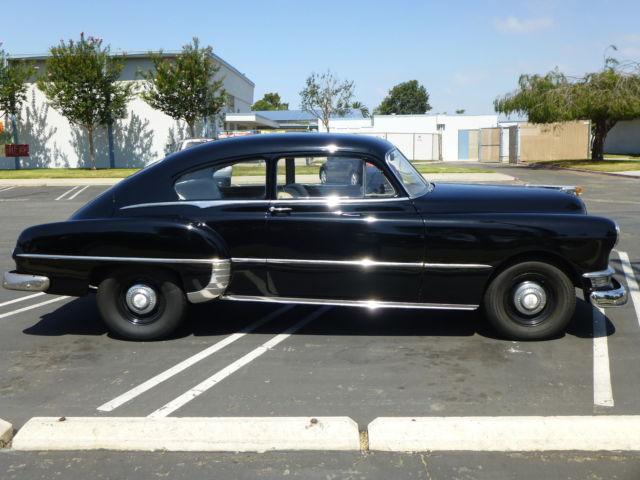 1950 pontiac silver streak 2 door fastback