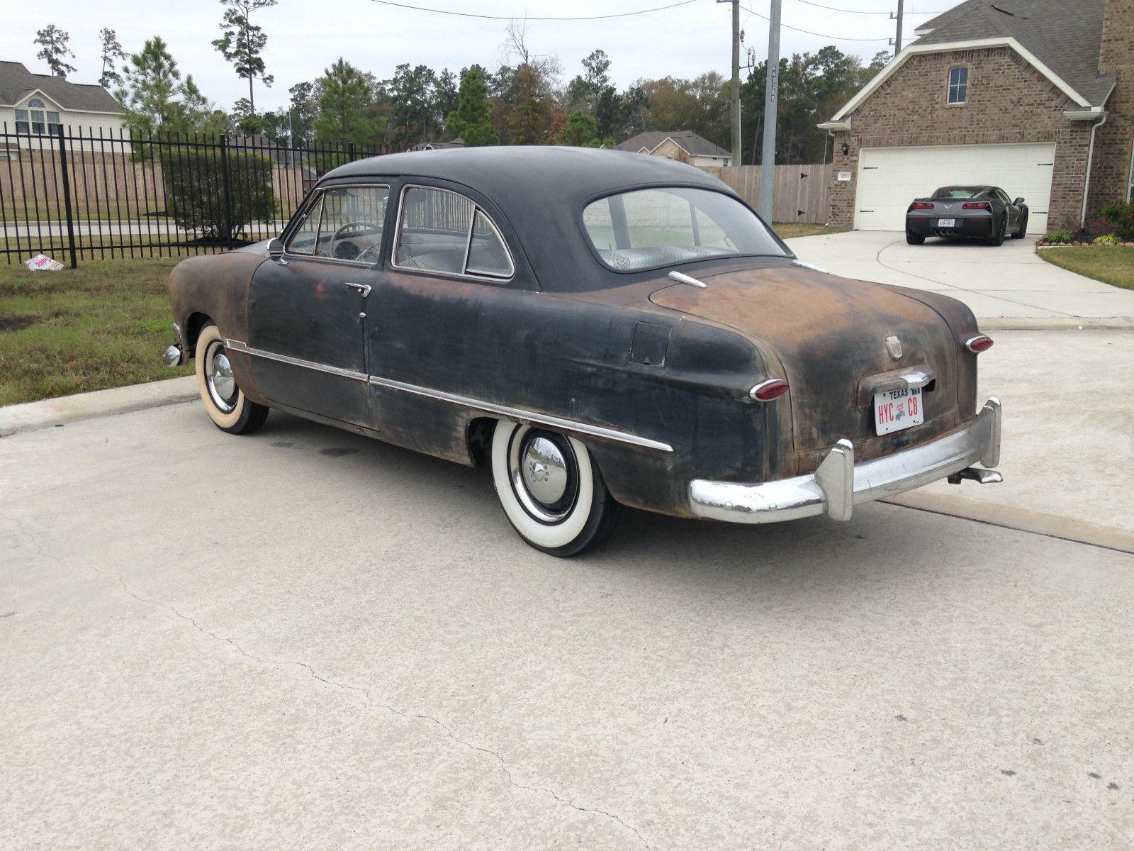 1950 shoebox ford custom 2 door tudor sedan no reserve for 1950 ford 2 door sedan for sale