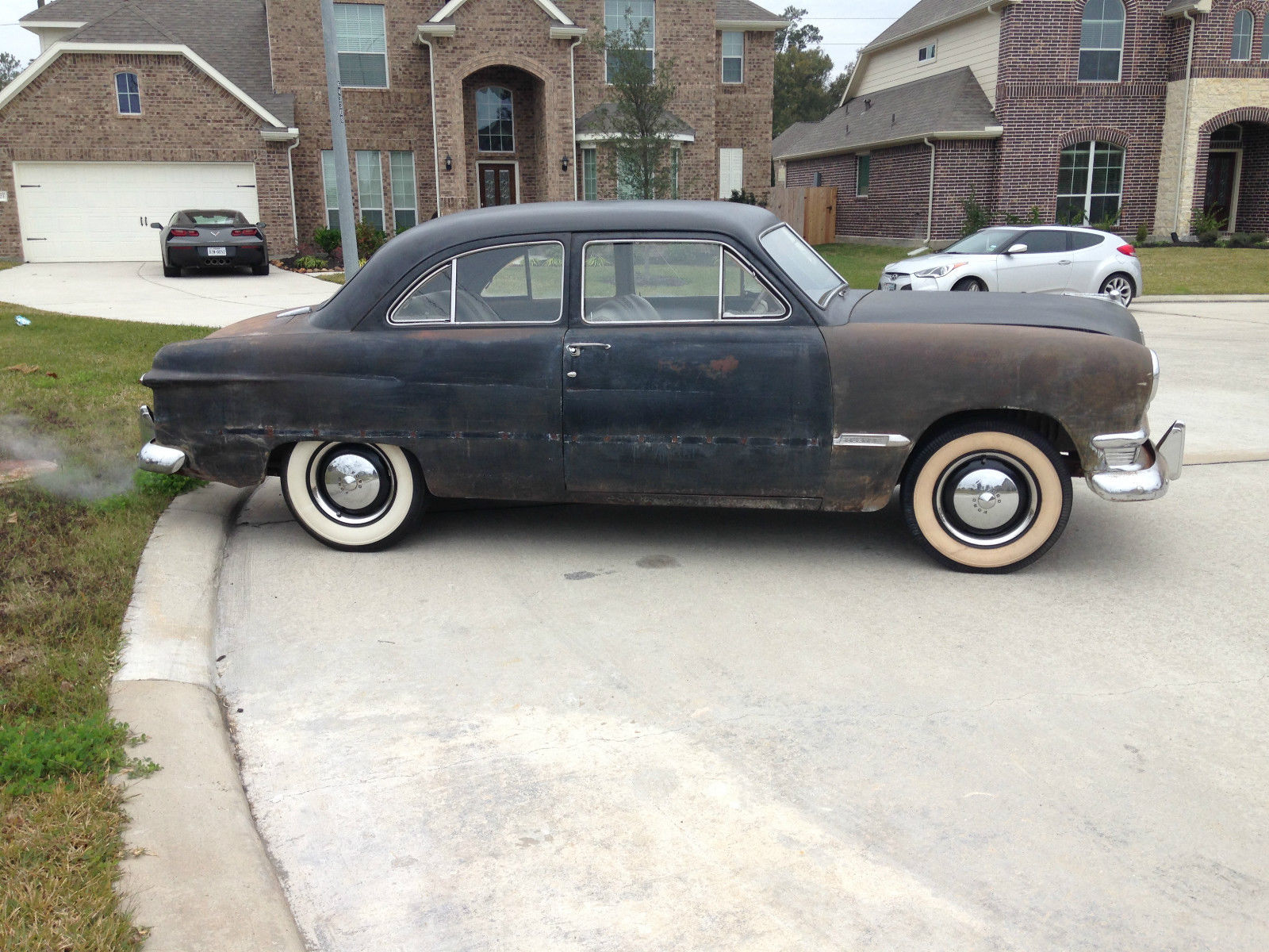 1950 shoebox ford custom 2 door tudor sedan no reserve for 1950 ford custom 4 door