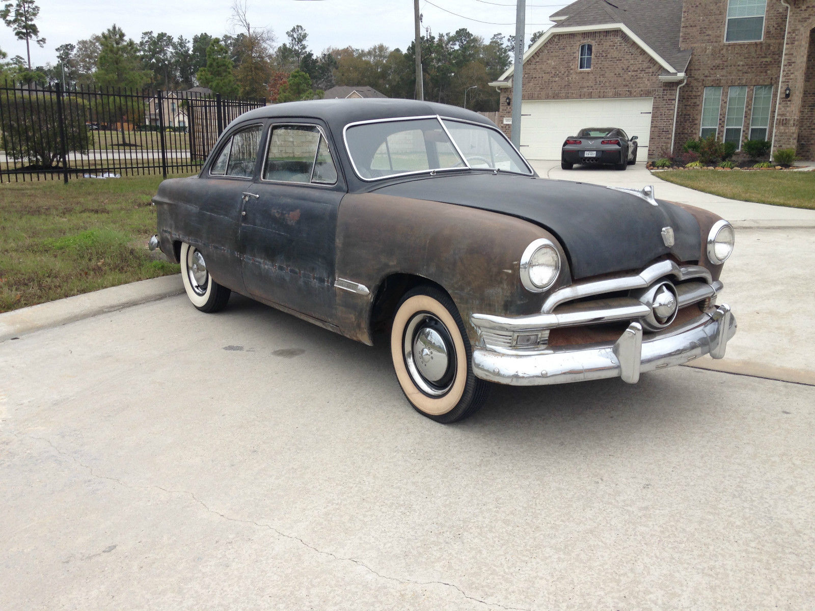 1950 shoebox ford custom 2 door tudor sedan no reserve for 1950 ford custom 2 door