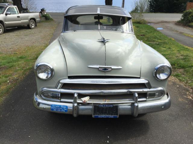 1951 Chevrolet Business Coupe 2 Door Power Glide