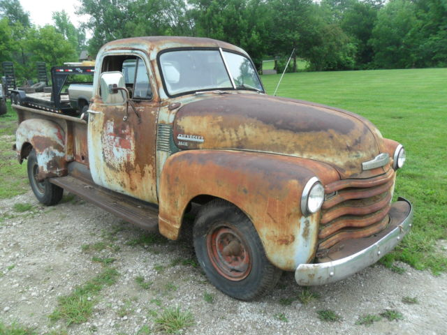 1951 chevrolet chevy pickup truck 3600 3 4 ton rat rod 1947 1948 1949 1950 gmc. Black Bedroom Furniture Sets. Home Design Ideas