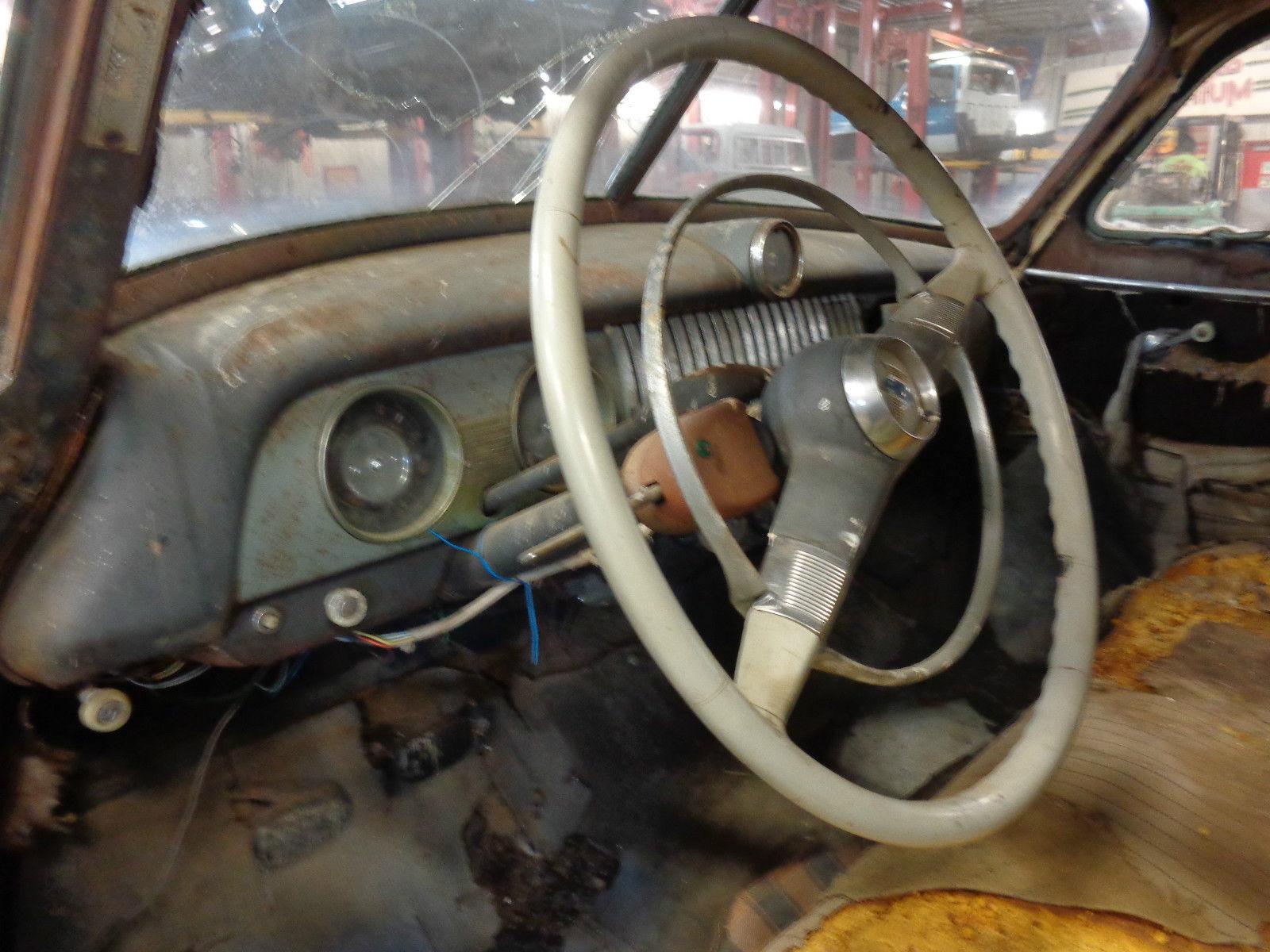 1951 Chevrolet Fleetline Deluxe 2 Door Fastback Barn Find 35l