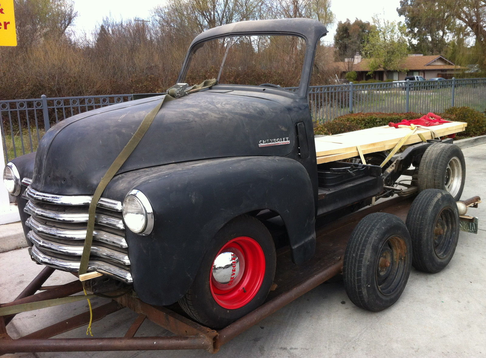 1951 Chevrolet Truck Woody Project On S10 Frame 1947 1948 1949 1950 1957 Chevy Vin Tag Location 1952 Woodie For Sale In Buellton California United States