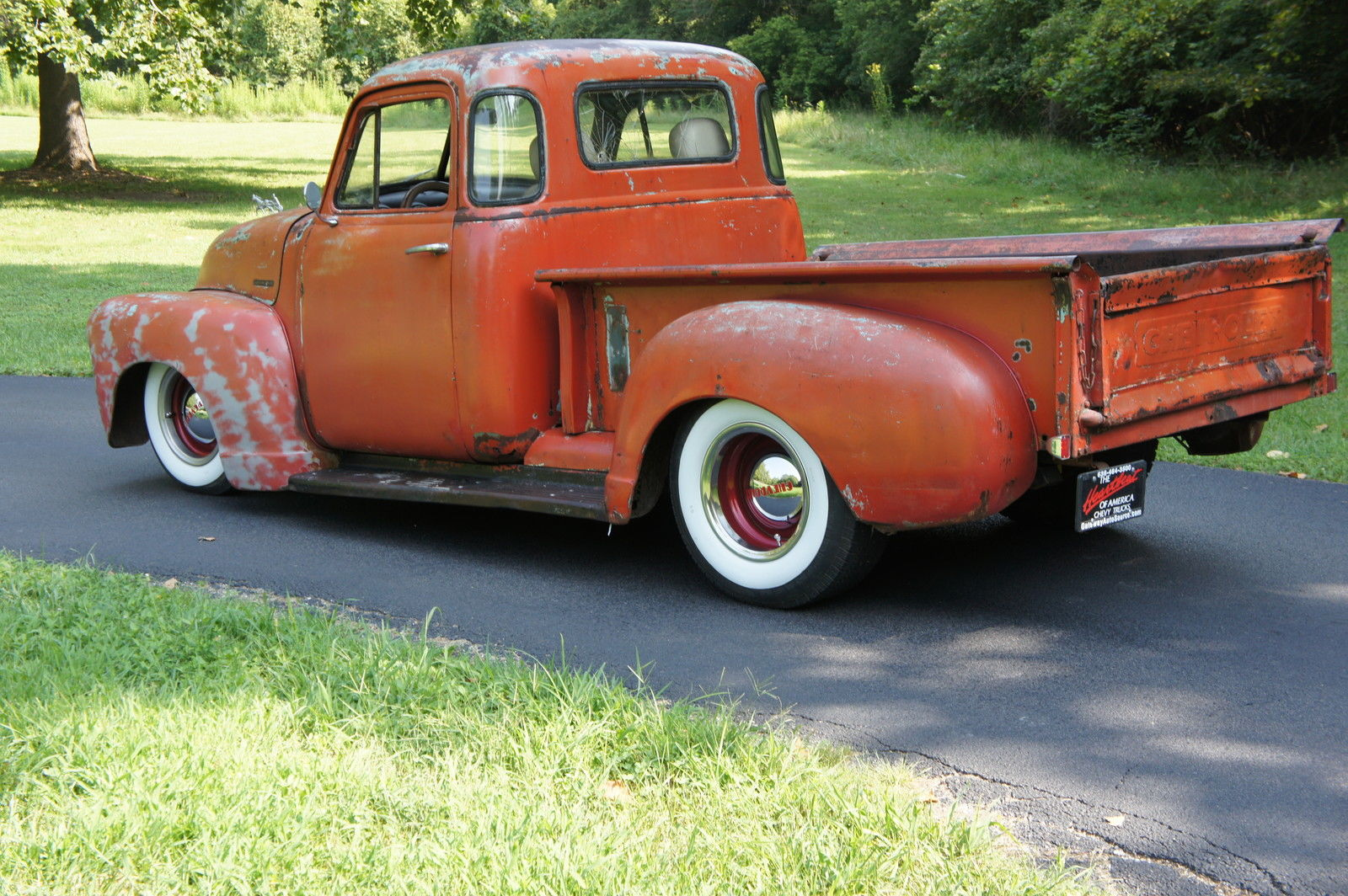 1951 chevy 3100 5 window shortbed ratrod original patina for 1951 chevy 5 window pickup for sale