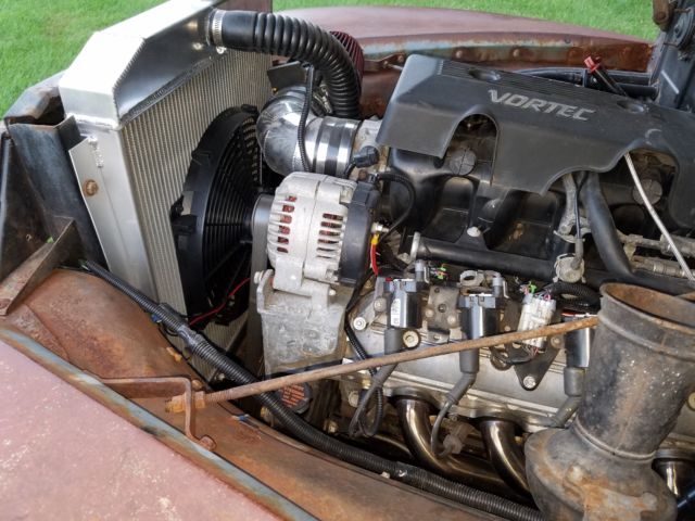 1951 Chevy 3100 Shop Truck Patina C10 Hot rod Pro touring ...
