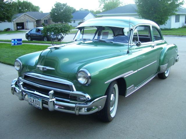 1951 Chevy Stylemaster Deluxe 2 Door Powerglide