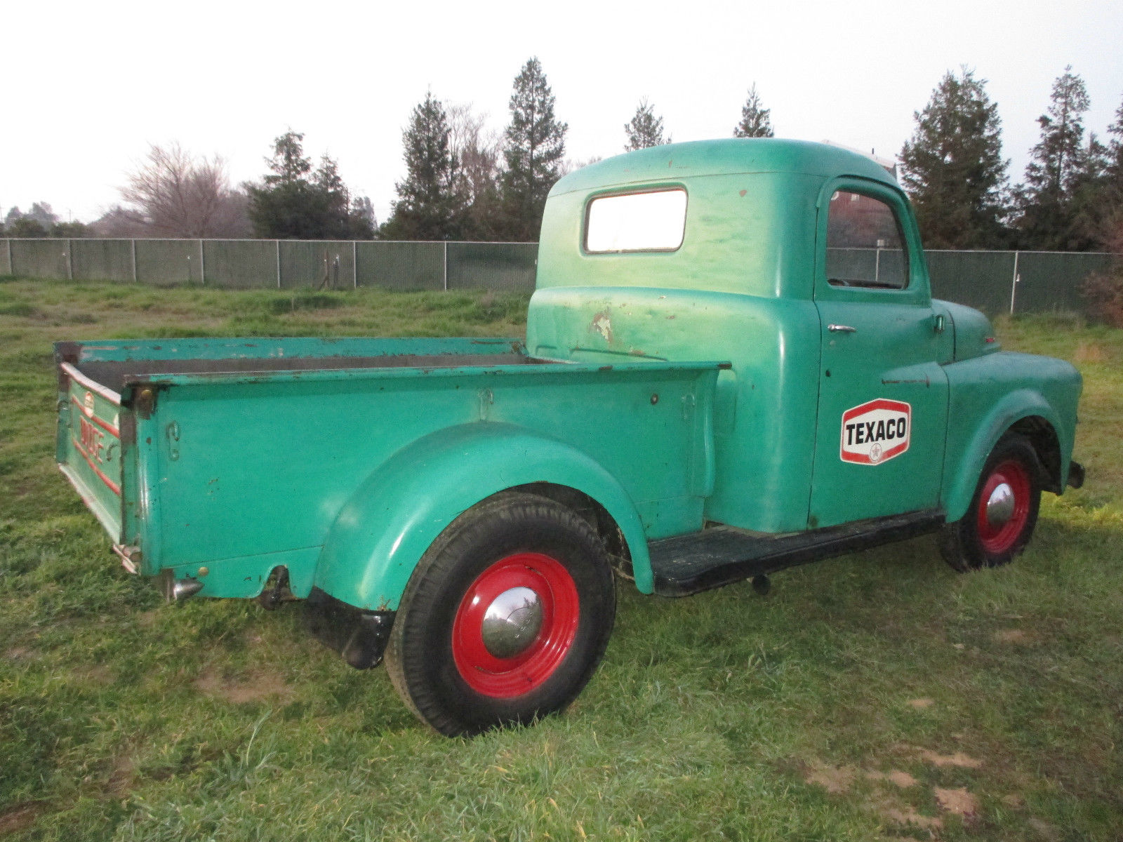 1951 Dodge Pickup Truck B Series Texaco Shop Truck