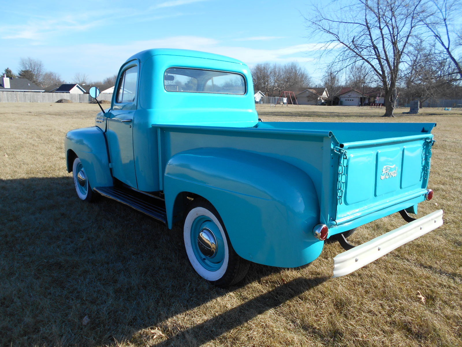 Ford F Star Cab Pickup Original Runs Great Ford Pickup Five Star Cab on 1951 F1 Ford Short Bed
