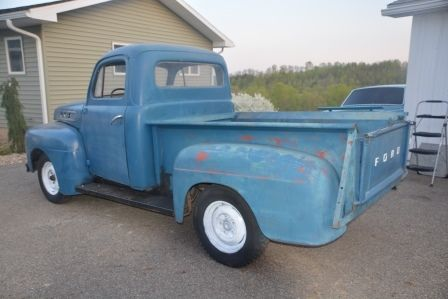 Ford F Short Bed Pick Up Truck F F Rare Other on 1951 F1 Ford Short Bed