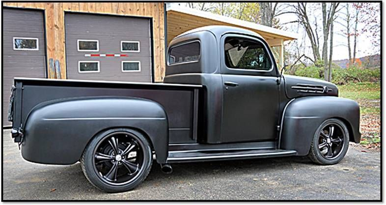 1951 Ford F1 Street Rod Truck Ground Up Build Hot Rod