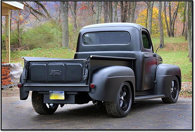 Ford F Street Rod Truck Ground Up Build Hot Rod Black