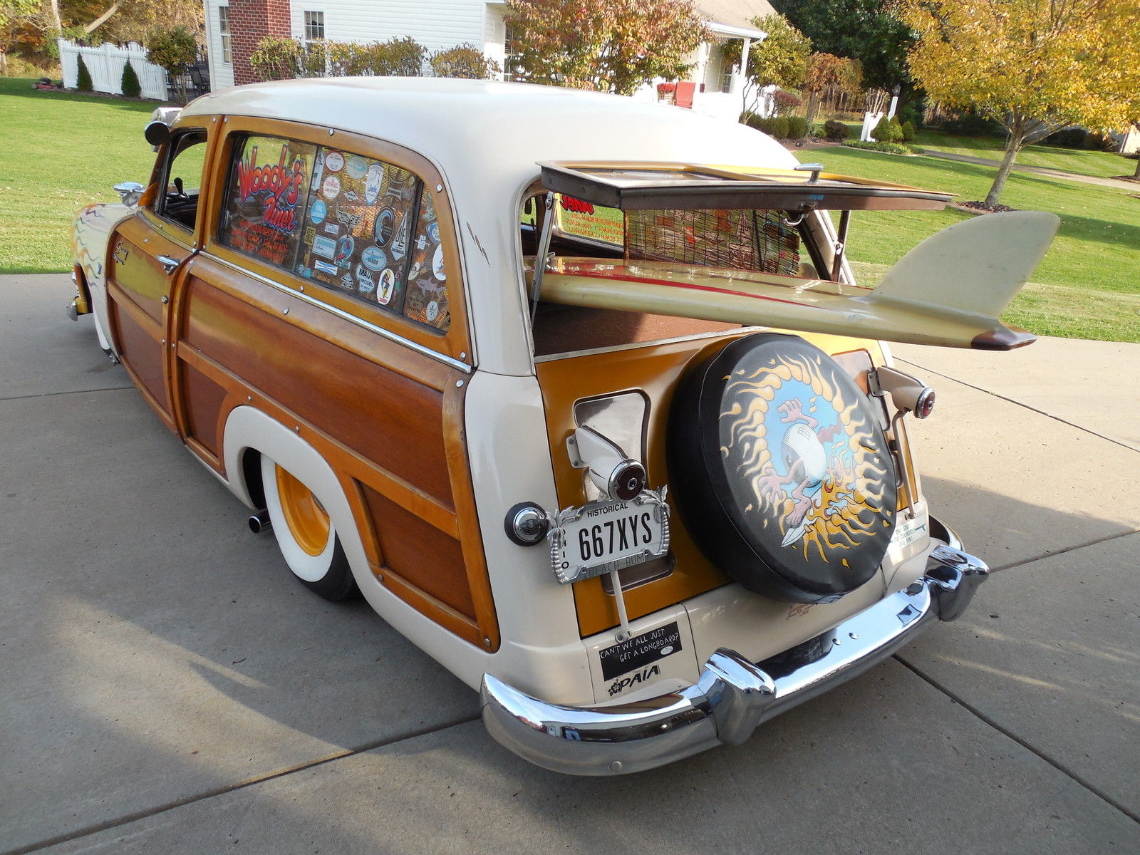 1951 ford woodie wagon most popular photographed woodie ca car orig wood. Black Bedroom Furniture Sets. Home Design Ideas