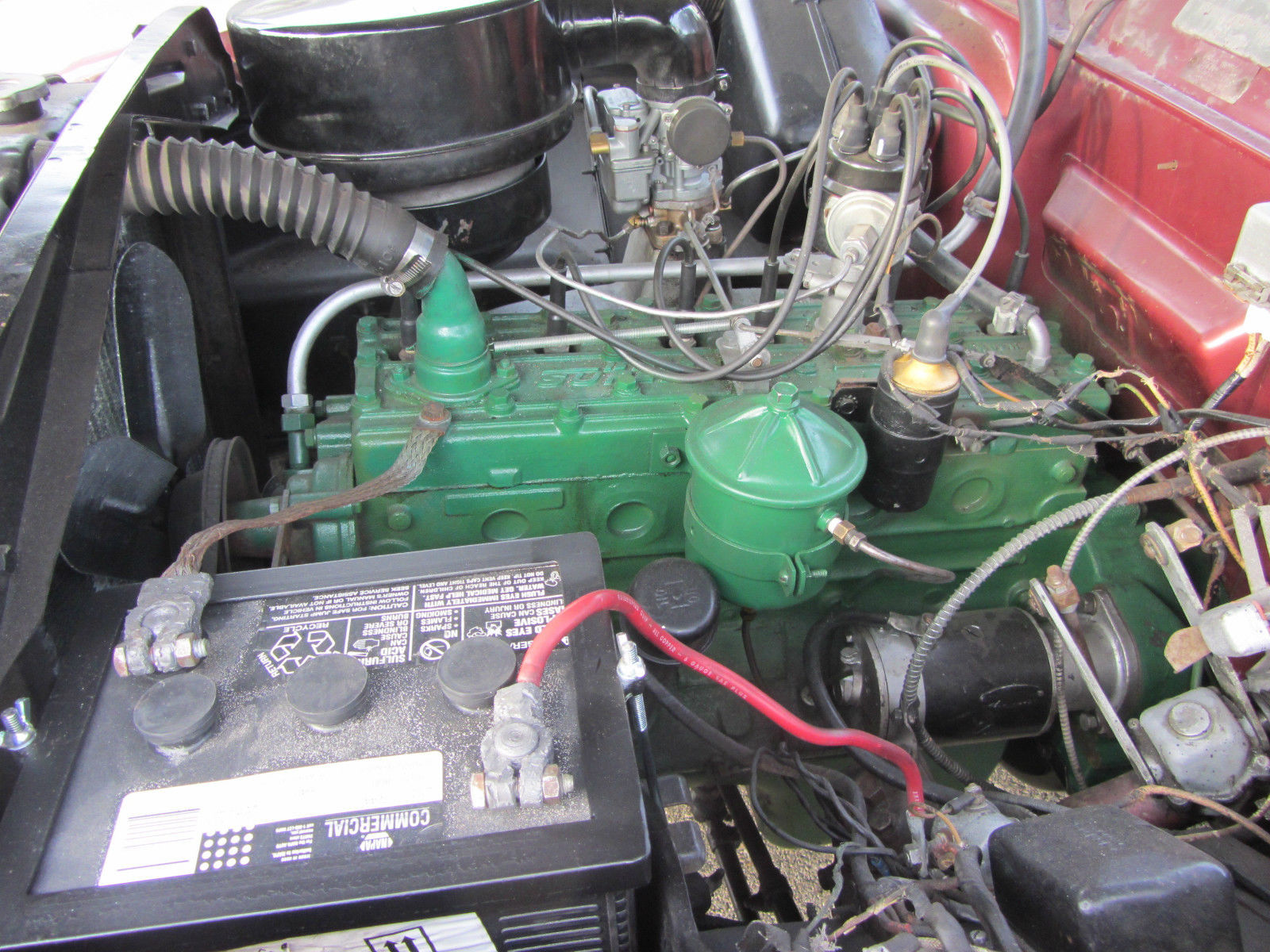 1951 Kaiser Deluxe 226 Supersonic Engine 3 Speed W Overdrive Ferrari Wiring Harness