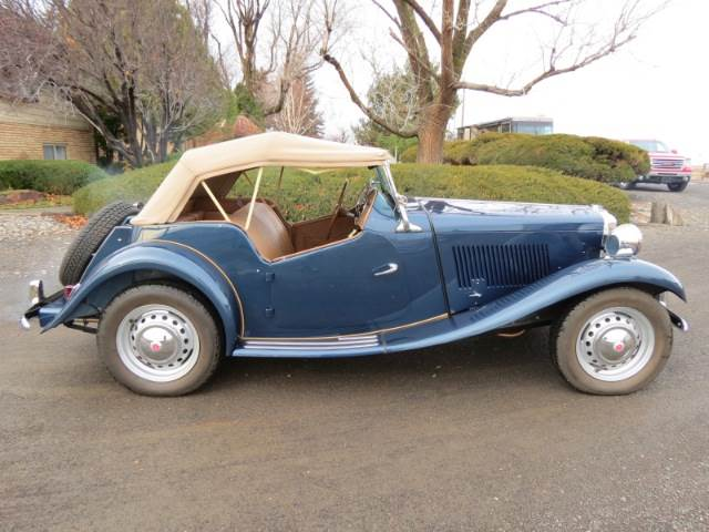 1951 Mg Td Owners Manual