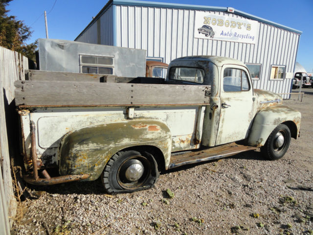 1952 52 ford f 2 pickup truck project truck parts beater rat rod great. Cars Review. Best American Auto & Cars Review