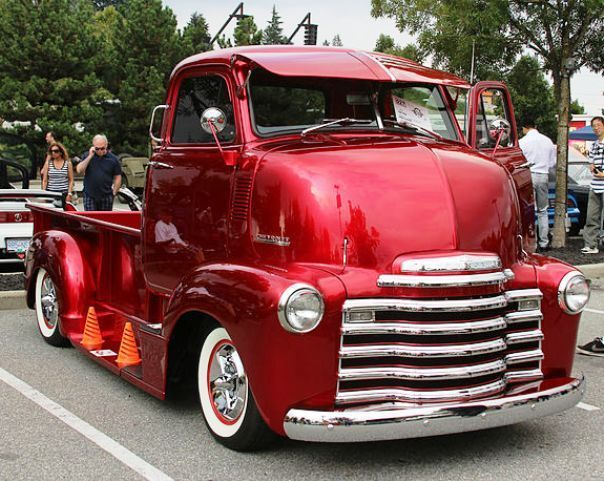 1952 Chevy Coe Cabover Truck