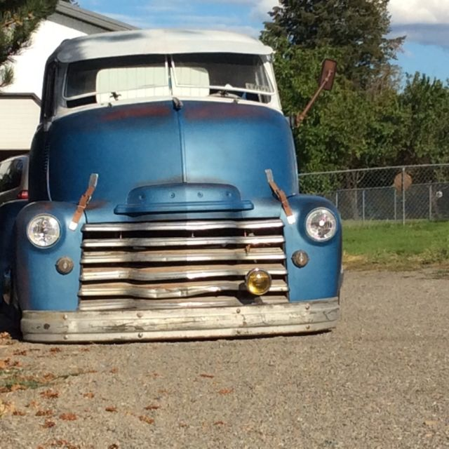1952 chevy coe cab over 12v cummins 5 speed dually patina Dodge Pickup Wiring Diagram