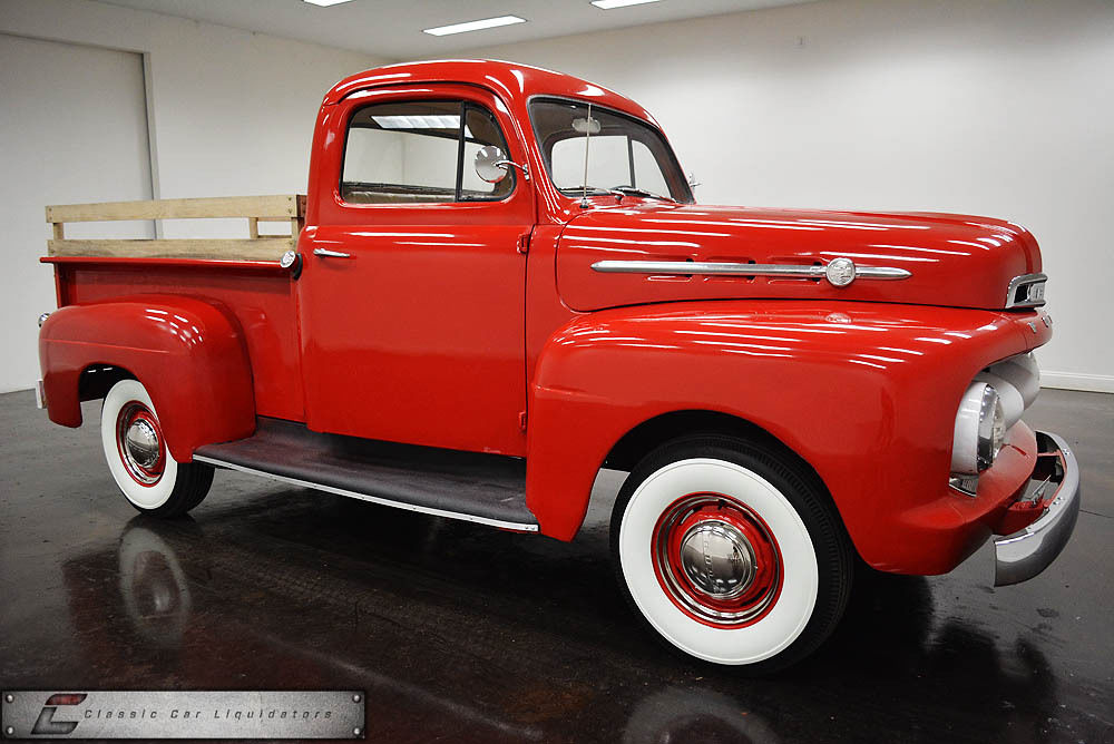 1952 ford f1 pickup 6 cylinder 3 speed manual. Black Bedroom Furniture Sets. Home Design Ideas