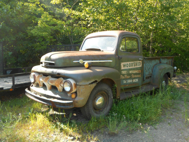 Ford F Ton Pickup Truck With Running Flathead V Solid Frame S Match