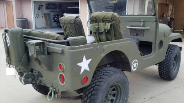 Willys Military Jeep Sale >> 1952 Jeep Cj5 Military Issued Willys M38