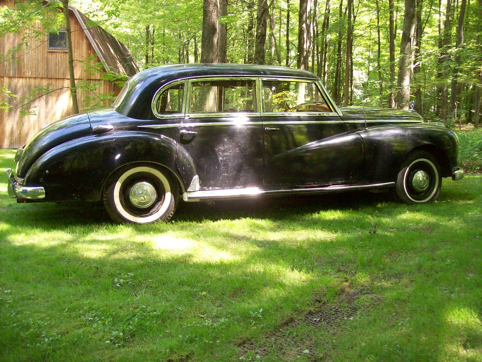 1952 mercedes benz 300 adenauer for Mercedes benz 300