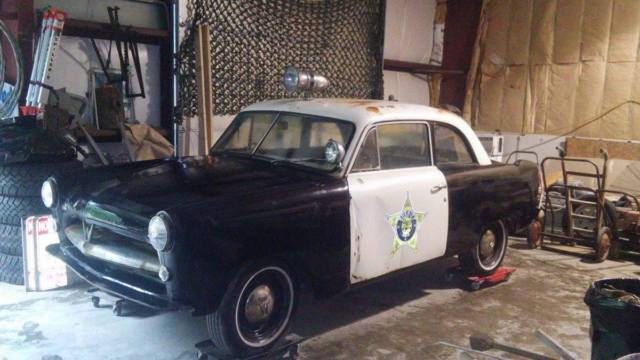 1952 willys aero ace coupe police car original complete car hot rod rat rod. Black Bedroom Furniture Sets. Home Design Ideas