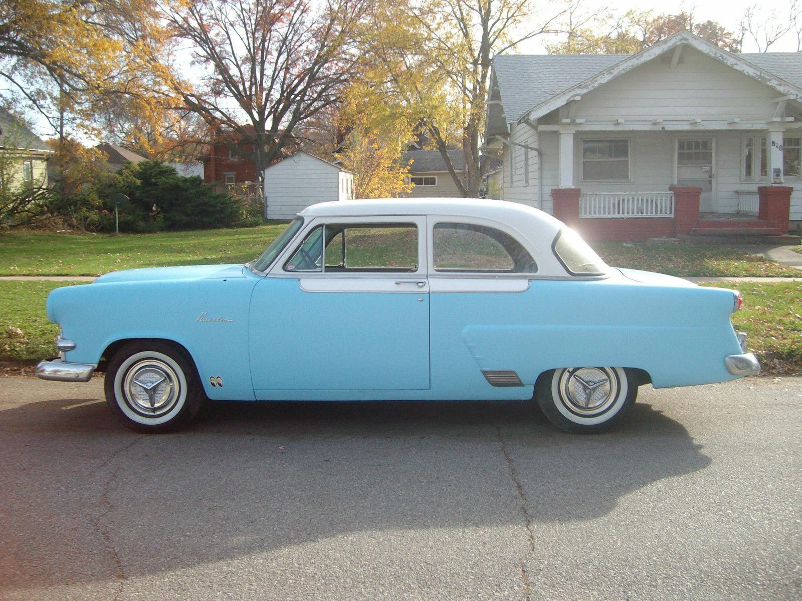 1953 53 ford mainline custom hot rod 2 door sedan cruiser for 1953 ford 2 door sedan