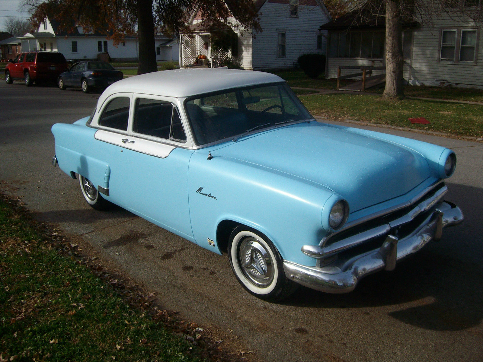 1953 53 ford mainline custom hot rod 2 door sedan cruiser for 1953 ford 2 door coupe