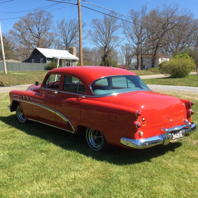 Buick Vehicles List: 1953 Buick Special Sedan