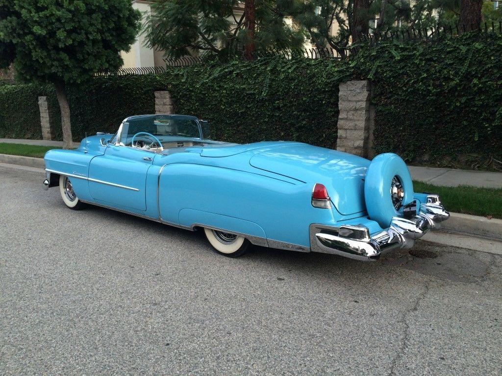 1953 Cadillac Eldorado Convertible 448 Of 532 Built Lincoln Continental