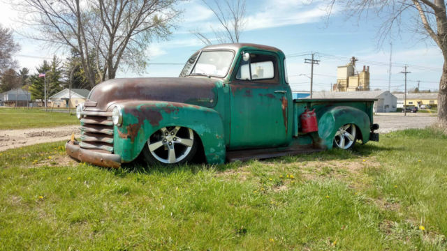 1953 chevrolet 3100 bagged lt1 motor patina truck rat hot for 1953 chevy truck for sale 5 window